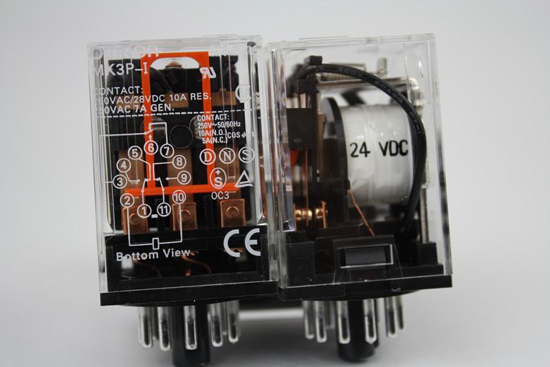 欧姆龙/继电器/一般继电器/MK3P-I DC24
