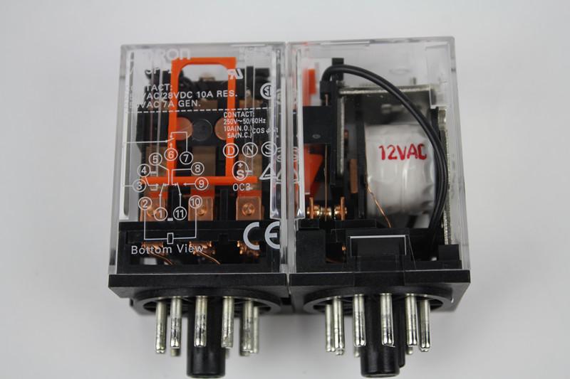 欧姆龙/继电器/一般继电器/MK3P-I AC12