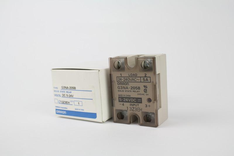 欧姆龙/继电器/固态继电器/G3NA-205B